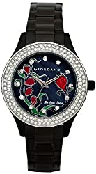 Giordano Analog Black Dial Womens Watch 2587-33