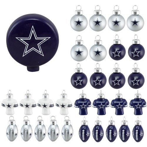 Dallas Cowboys Christmas Ornament, Christmas Cowboys