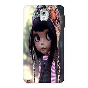 Ajay Enterprises CUTE BIG EYE GIRL Back Case Cover for Galaxy Note 3