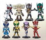 仮面ライダー シリーズ ワールドコレクタブルフィギュア vol.16 全8種セット