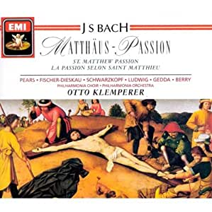 Passion selon St Matthieu