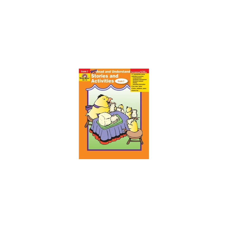 Evan Moor Educational Publishers 746 More Read & Understand, Grade 2