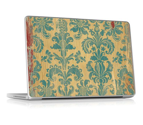 "Designer Zierschutzfolie Aufkleber für Apple Macbook Pro 13"" Unibody (Pro, Air, MacBook) - Winona - Gelaskins"