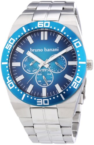 Bruno Banani Men's Quartz Watch Brahma BR22002 with Metal Strap