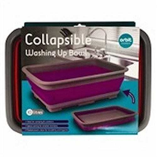 Collapsible-Washing-Up-Bowl-Ideal-for-Camping-Colours-may-vary