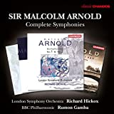 Arnold:Complete Symphonies [London Symphony Orchestra; BBC Philharmonic, Richard Hickox; Rumon Gamba] [CHANDOS : CHAN 10853(4) X]