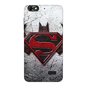 Day vs Knight Multicolor Back Case Cover for Honor 4C