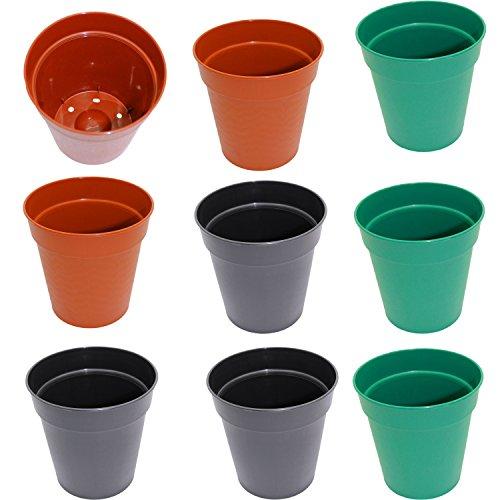 set-of-9-round-plastic-planters-assorted