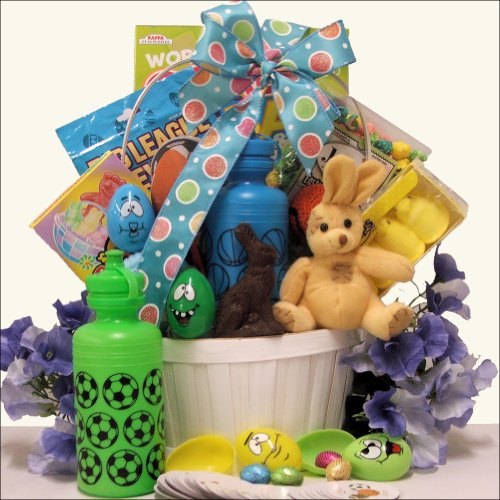 Egg-streme Sports: Easter Gift Basket for Boys