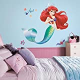RoomMates RMK2360GM The Little Mermaid Peel and Stick Giant Wall Decals, 1-Pack