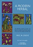 A Modern Herbal (Volume 2, I-Z and Indexes)