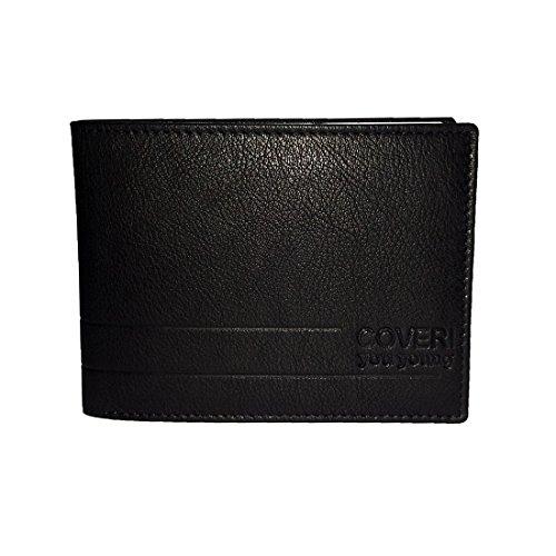 Portafoglio in pelle Enrico Coveri da uomo cod: 8806-skt02 Nero