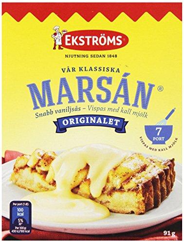 Ekstroms Marsan Snabb Vaniljsas (Instant Vanilla Sauce), 3.2-Ounce Boxes (Pack of 26)