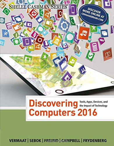 Discovering Computers �2016 (Shelly Cashman Series)