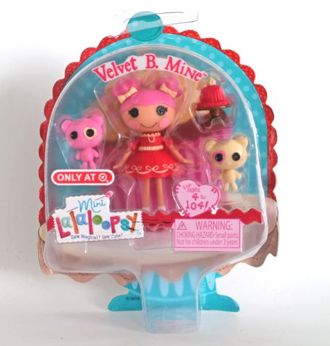 Mini Lalaloopsy - Velvet B. Mine - 1
