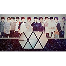 Posterhouzz Music Exo Band (Music) South Korea HD Fine Art Paper Print Wall Poster