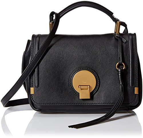 Chlo-Womens-Indy-Small-Double-Carry-Bag-Black