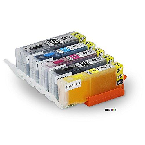 Canon Refillable Edible Ink 5 Pack Canon PGI 250 CLI 251 ...