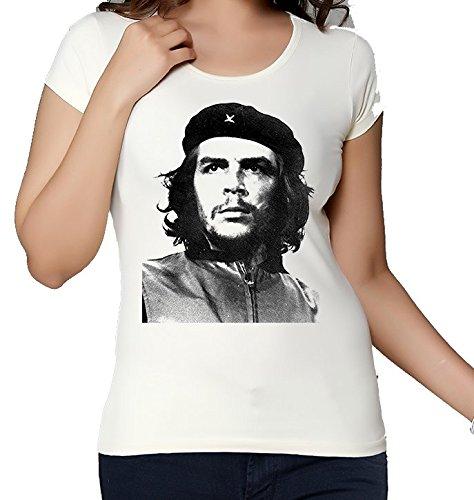 Che Guevara Inspired Graphic Portrait Fan Artwork maglietta da donna Medium