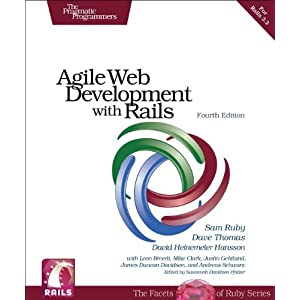 Agile Web Development with Rails (Pragmatic Programmers)