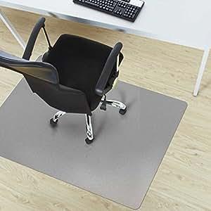 Etm office chair mat grey multipurpose floor for Floor couch amazon