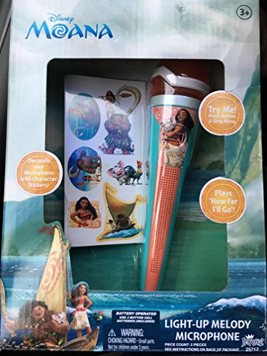 Moana Disney Light-up Melody Microphone