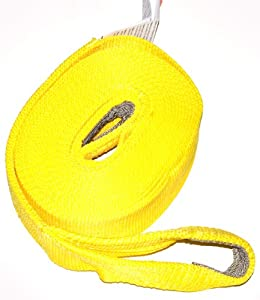 WARN 11392 Recovery Tow Strap 3 in. x 30 ft.