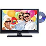 Telefunken L19H182I3D 48 cm (19 Zoll) Fernseher (HD-Ready, Triple Tuner, DVD-Player)