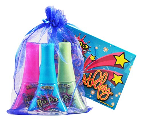 Bo-Po-Polish-Scented-Birthday-Pack-with-Blue-Gift-Bag-3-Piece