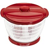 KitchenAid Professional Salad Spinner, Red