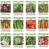 Organic Heirloom Vegetable Seed Variety Pack