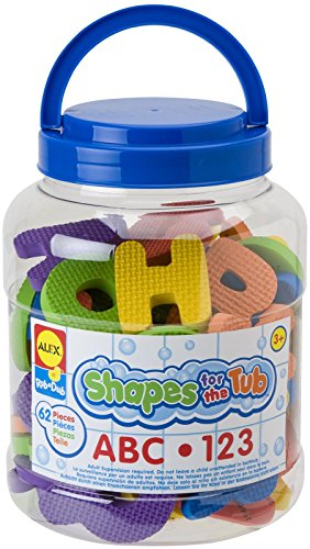 ALEX Toys Shapes For The Tub ABC & 123