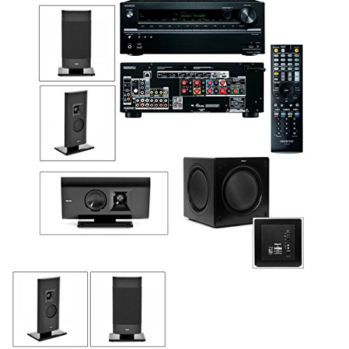 Klipsch Gallery G-12 5.1 Home Theater System-Sw-310-Onkyo Tx-Nr636 7.2Chaanel