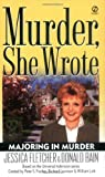 Murder, She Wrote: Majoring In Murder (0451208323) by Fletcher, Jessica
