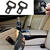 CIKIShield Car safety belt clip Car Seat belt buckle Vehicle-mounted Bottle Openers-2pack