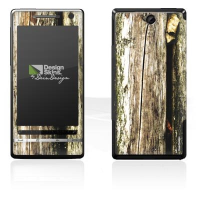 Design Skins für O2 XDA Diamond 2 - Planks Design Folie