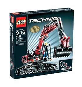 lego technic excavator toys games. Black Bedroom Furniture Sets. Home Design Ideas