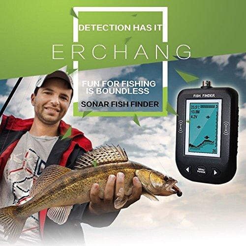 Erchang-Sonar-Fish-Finder-Smart-Sonar-Fish-Finder-Water-Temperature-Display-Shallow-Water-Alarm-Fish-Finder