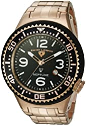 Swiss Legend Men's 'Neptune Force' Swiss Quartz Stainless Steel Casual Watch (Model: 21819P-RG-11)