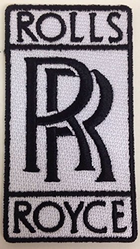 Rolls Royce Iron on Patch Embroidered 3