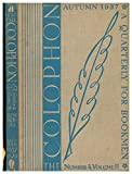 img - for The Colophon - New Series - A Quarterly for Bookmen Atumn 1937 Volume 2 Number 4 book / textbook / text book