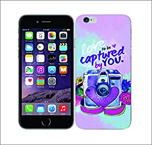 Galaxy Printed 1488 Camera Lens Pixel Hard Cover for Apple iPhone 4