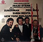 From Lincoln Center; Isaac Stern 60th…