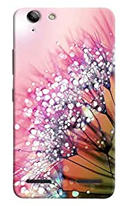 Omnam Round Pattern Printed Designer Back Cover Case For Lenovo Vibe K5 Plus