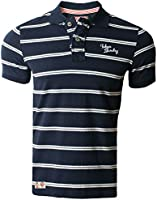 Mens Pique Polo Shirt T-shirt Tokyo Laundry Short Sleeved Summer 1X5469
