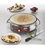 Waring Commercial Wsc160 Heavy-duty Commercial Electric Crepe Maker, 16-inch