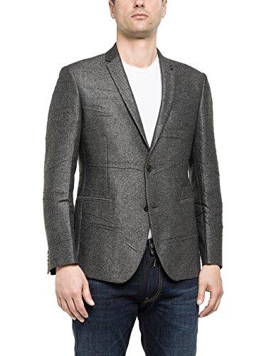 Replay - Jacke, Giacca da uomo, grigio (medium grey 10), XL
