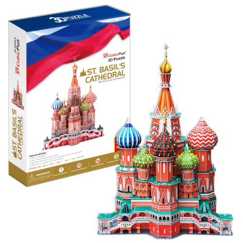 3D立体パズル 聖ワシリイ大聖堂 BIGサイズ