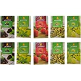 Crafts A To Z Al Fakher Hookah Flavour (Cardamom, Chocolate With Mint, Grape, Grape With Mint & Strawberry) (Pack...