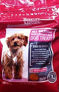 Berkley & Jensen All Natural Penut Butter Flavored Dog Treats 2 LB.